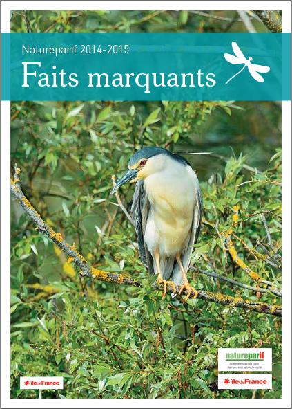 Natureparif, Faits marquants 2014-2015 - guide - LUCIOLE