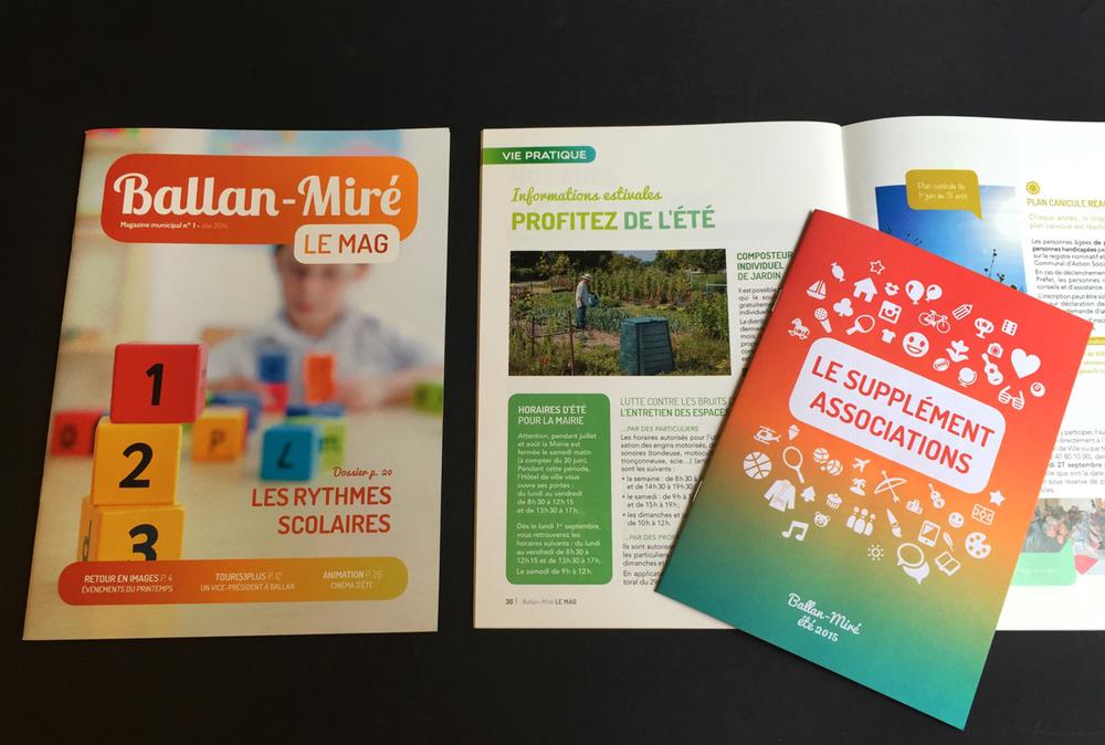 Ballan-Miré Le Mag - magazine municipal - LUCIOLE
