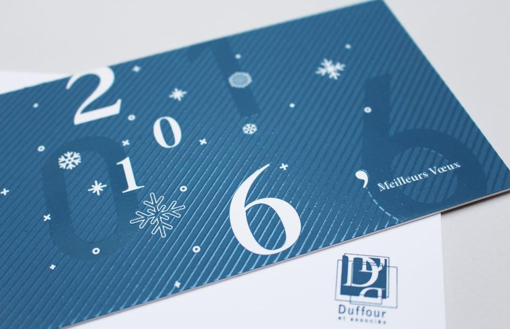 Duffour & Associés - Vœux 2016 - LUCIOLE
