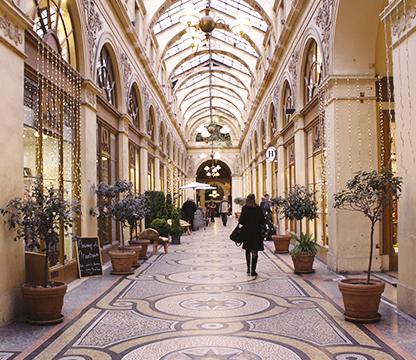 Galerie Vivienne - blog LUCIOLE