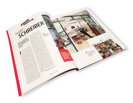 CB News Mai 2016 - Le bureau de travail de Marc Schreiber - LUCIOLE