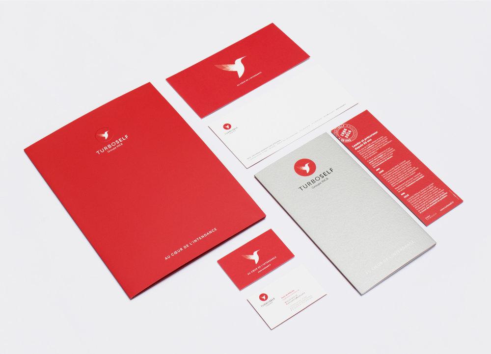 TurboSelf - Identité visuelle - LUCIOLE