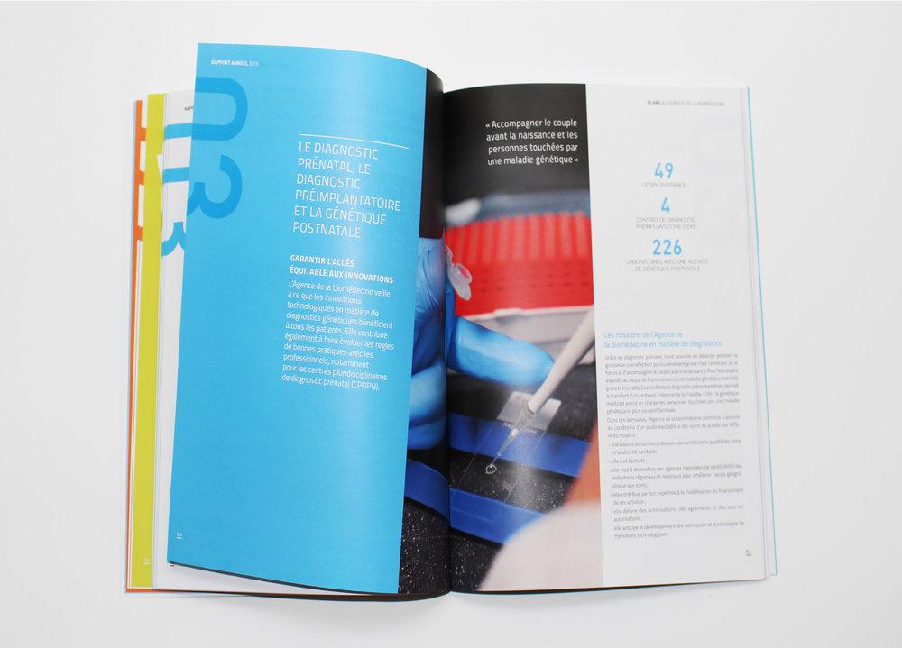 Agence de la biomédecine - Rapport annuel 2015 - LUCIOLE