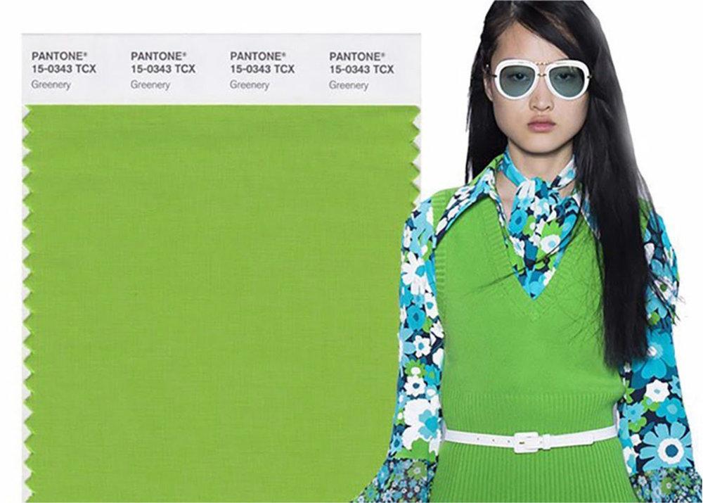 Pantone - Greenery 15-0343 -blog LUCIOLE