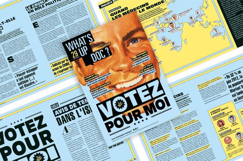 What's Up Doc - Un numéro politique- blog LUCIOLE
