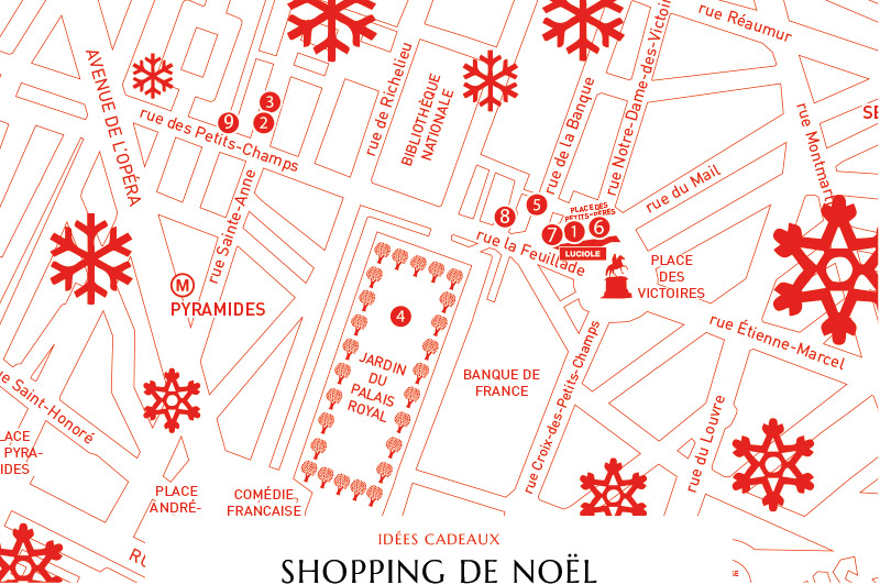 Shopping de noël - blog Luciole