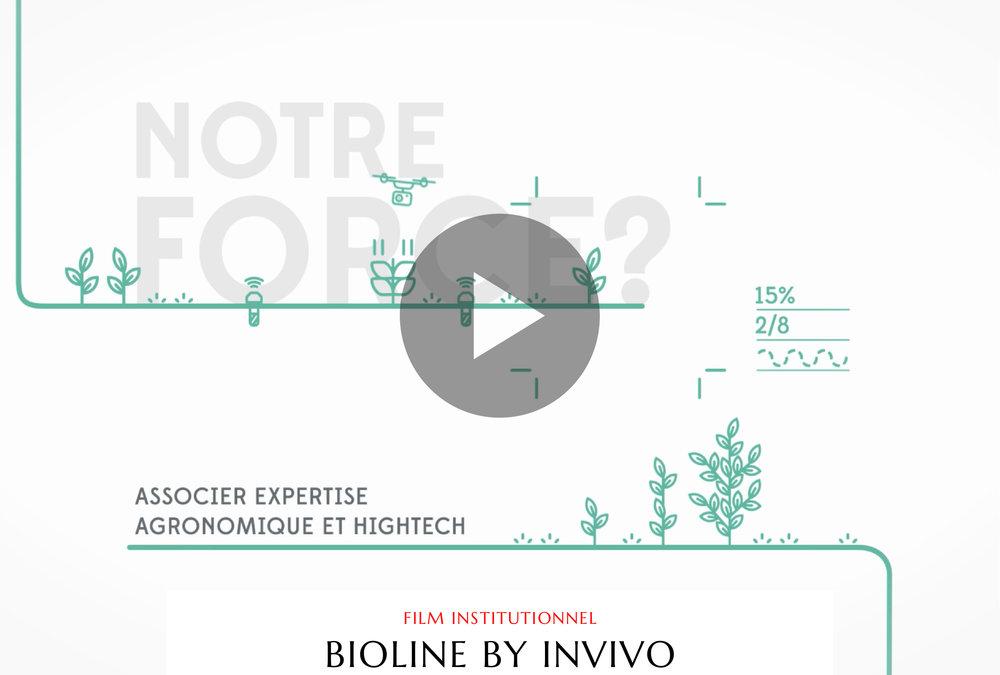 Motion design - Bioline by Invivo - Luciole