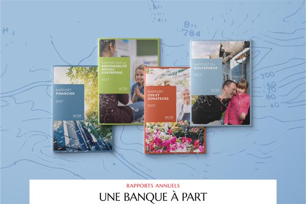 Une banque à part - rapport annuel - Luciole