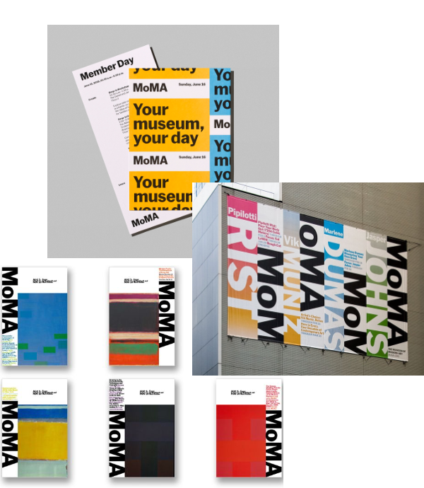MoMA - Logotype - Identité visuelle - Blog Luciole