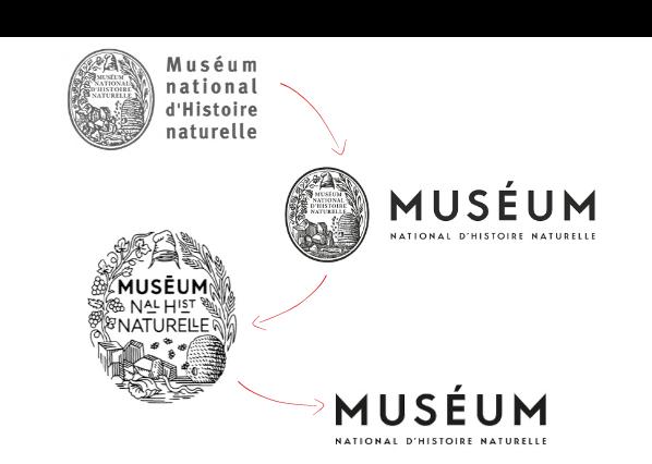 Muséum - Logotype - Identité visuelle - Blog Luciole