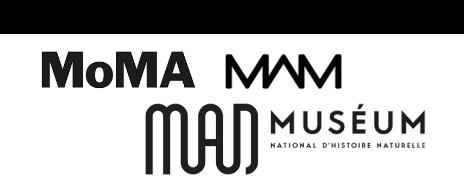MAM - MAD - MoMA - Muséum - Logotype - Identité visuelle - Blog Luciole