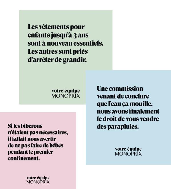 Typographie Monoprix - Blog Luciole